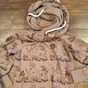 Naketano Women's deer hoodie